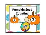 Preschool Pumpkin Seed Counting