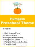 Preschool Pumpkin Theme