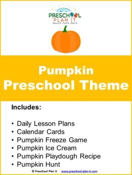 Preschool Pumpkin Theme