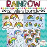 Preschool Rainbow Activities- Math, Literacy, and Fine Motor Printables