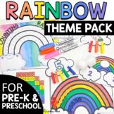 Preschool Rainbow Theme Activities and Printables | Pre-K