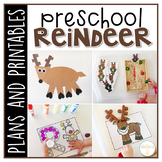 Preschool: Reindeer {Plans and Printables}