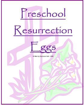 Preschool Resurrection Eggs