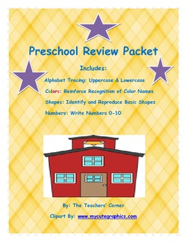 Preschool Review Packet