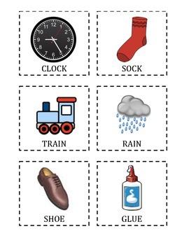 Preschool Rhyme Cards