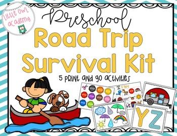 Preschool Roadtrip Survival Kit!