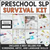 Preschool Speech Therapy Activities Survival Kit BUNDLE