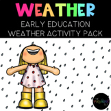 Preschool SLP Weather Unit: Circle Time, Centers, Adapted Book