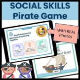 Preschool SOCIAL SKILLS Pirate Game Interactive PDF