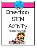 Preschool STEM Activity - Shapes In A Picture