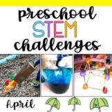 Preschool STEM Challenges: April