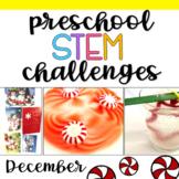 Preschool STEM Challenges: December