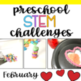 Preschool STEM Challenges: February