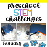 Preschool STEM Challenges: January