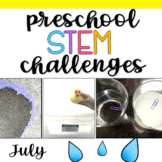 Preschool STEM Challenges: July