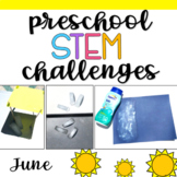 Preschool STEM Challenges: June