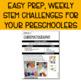 Preschool STEM Challenges: March