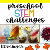 Preschool STEM Challenges: November