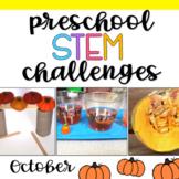 Preschool STEM Challenges: October