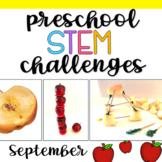 Preschool STEM Challenges: September