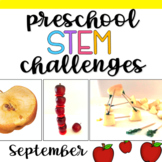 Preschool STEM Challenges: September