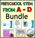 Preschool STEM from A-D for Distance Learning!