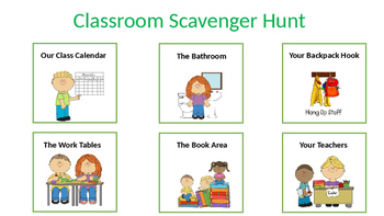 Preschool Scavenger Hunt