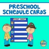 Visual Schedule Cards for Preschool