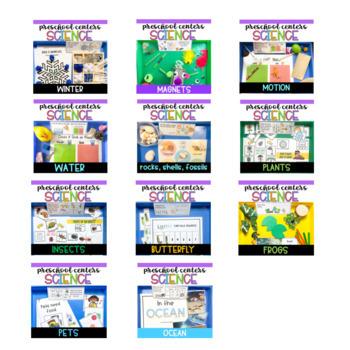 Preschool Science Centers