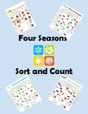 Preschool Seasonal Sort and Count