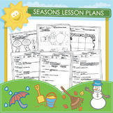 Preschool Seasons Lesson Plans and 18 Worksheets
