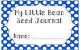 Preschool Seed Planting Journal