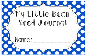 Preschool Seed Planting Journal