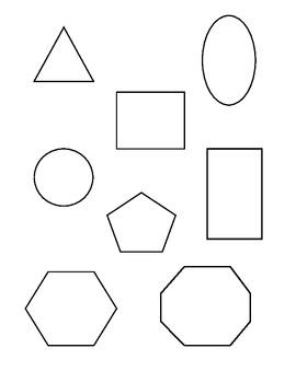 preschool shape recognition master assessment form by miss jenn tpt. Black Bedroom Furniture Sets. Home Design Ideas