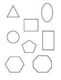 Preschool Shape Recognition Master Assessment Form