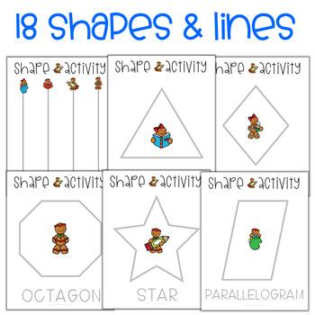 Preschool Shapes Activities - December