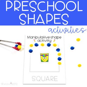 Preschool Shapes Activities for Back to School