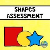 Preschool  File Folder Assessment Kit--Shapes