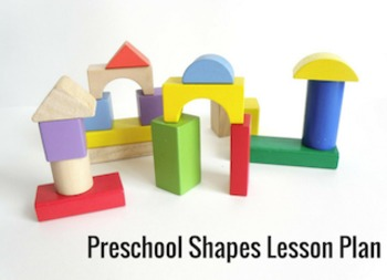 Preschool Shapes Lesson Plan and Activities