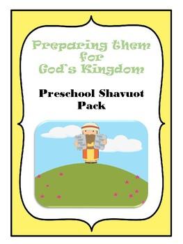 Preschool Shavuot Pack