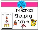 Preschool Shopping Game