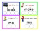Preschool Sight Word Flashcards (Islamic)