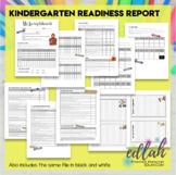 Kindergarten Readiness Skill Progress Report