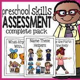 Preschool Skills Assessment - Kindergarten Readiness Test - Complete Pack