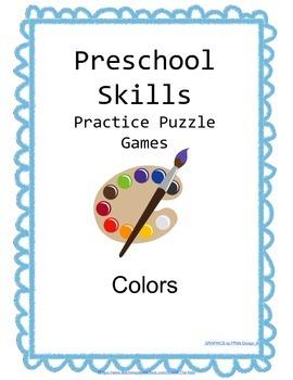 Preschool Skills Puzzle Games Colors