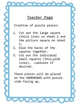 Preschool Skills Puzzle Games Numbers