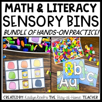 Preschool Sensory Bin Activities BUNDLE
