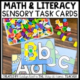 Preschool Sensory Bin Activities - Task Cards