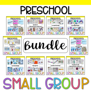 Preschool Small Group Bundle