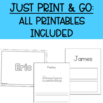 Preschool Small Group: Name Writing